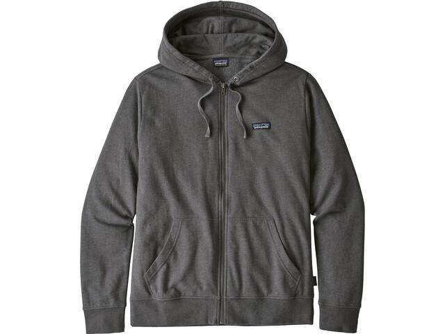 Patagonia P-6 Label Lightweight Full Zip Hoody Herre forge grey